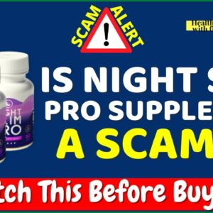Night Slim Pro Review ⚠️BEWARE❌ DON'T Buy Night Slim Pro Supplement Before Watching This Review!
