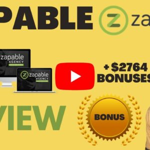 Zapable REVIEW ⛔ WARNING ⛔  DON'T GET ZAPABLE WITHOUT MY 👷�♂� CUSTOM👷�♂�  +$2764 BONUSES
