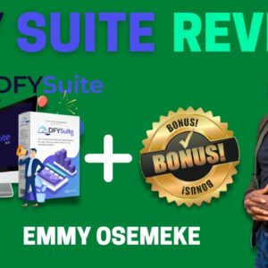 DFY Suite 3.0 Review ⚠️ WARNING ⚠️ DON'T GET THIS WITHOUT MY 👷 CUSTOM 👷 BONUSES!!