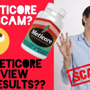 Meticore Review 😱  My Honest Meticore Reviews  ⚠�Scam Alert ⚠� Real  Meticore Reviews(2021)