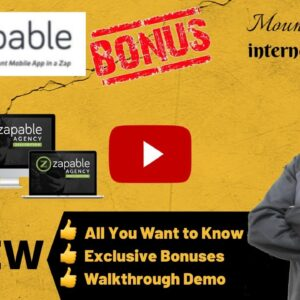Zapable Review 💥 CHECK MY 🆓 BONUSES 💥 Simply Build Your Own App Without Coding