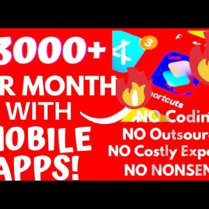zapable Review 2021 ⚠️ Earn $3000+ Per Month Passively ⚠️ Your Mobile App In 60 Secs ⚠️ Zapable Demo