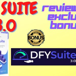🔥 DFY Suite 3.0 Review 🔥 Get High-Quality Content Syndication For Your Videos Or Niche Sites