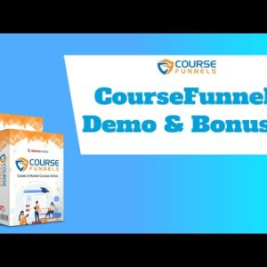 CourseFunnels Review ⚠️WARNING⚠️ DON'T BUY WITHOUT MY 👍HUGE BONUSES👍