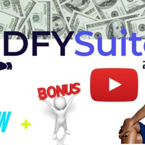 DFY Suite 3.0 Review ⚡⚡Warning⚡⚡ Before get DFY Suite 3.0 check it out this BONUSES I have for you!!