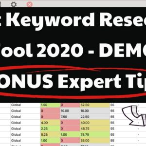 2020: Best Keyword Research Tool EVER - For YouTubers, Content Creators, Bloggers & eCommerce Sites