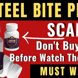 STEEL BITE PRO REVIEW | Watch This Before You Buy! | My Experience using SUPPLEMENT STEEL BITE PRO