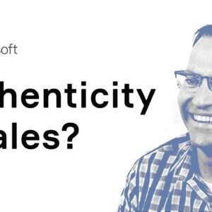 Authenticity is the new sales tool