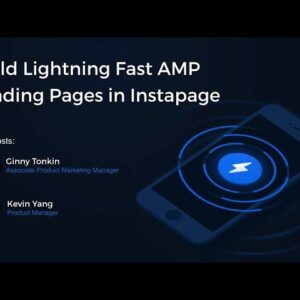 Build Lightning Fast AMP Landing Pages in Instapage