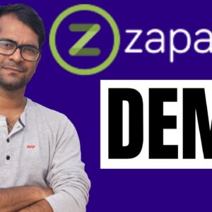 Zapable App Builder Software Demo: Create An Incredible Instant Mobile App In A Zap