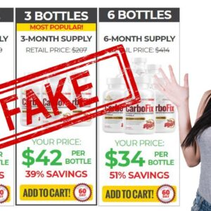 Carbofix Supplement Review | Scam Alert WATCH THIS!!
