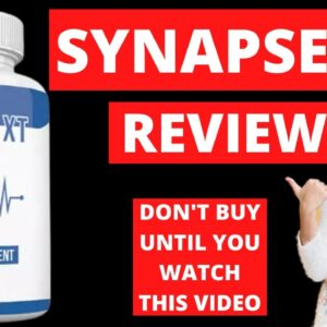 Synapse XT Reviews ❌Does Synapse XT Really Work?❌ Don't Buy It Until You Watch This