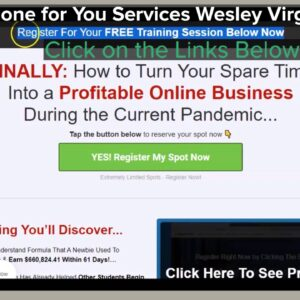 Done for You Services Wesley Virgin Review!!! - How to Earn Money Online 2021 Training Review!!!