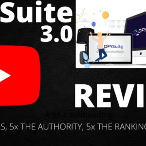 DFY SUITE 3.0 REVIEW ‼️ 2021 ‼️ TUTORIAL AND DEMO ‼️ SPECIAL AND EXCITING BONUSES FOR YOU ‼️‼️