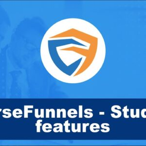 CourseFunnels - Student features! What do the students see