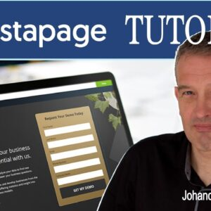 Create a Landing Page with Instapage Tutorial Course