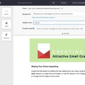 Create effective emails—Infusionsoft