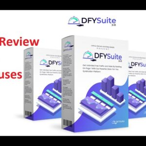 DFY Suite 3.0 Reviews and Demo | Honest Review [New Method To Rank YouTube Videos With DFY Suit 3.0]