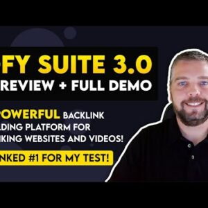 DFY Suite 3.0 Review and Demo   PROOF DFY Suite 3.0 Backlink Building