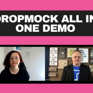 Dropmock All In One Demo | Full Interview With Jamie Ohler