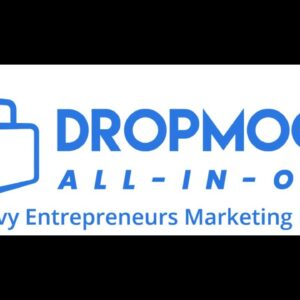 "DropMock ""All-In-One"" Marketing Portal demo"