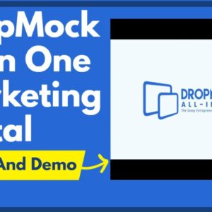 DropMock All In One Marketing Portal Review And Demo