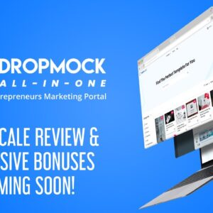 Dropmock All-In-One | Marketing Portal | What is Dropmock All-In-One?