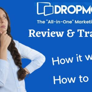 """DropMock """"All in One"""" Review How it works?"""