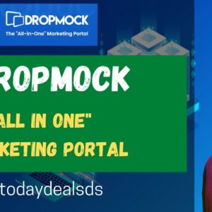 "DropMock Review 2021: ""All In One"" Marketing Portal 