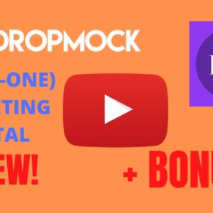 Dropmock Review || Honest Review Of Dropmock || Dropmock Bonuses || Demo