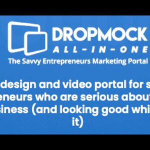 DROPMOCK REVIEW - Is DropMock All In One Marketing Portal Legit?