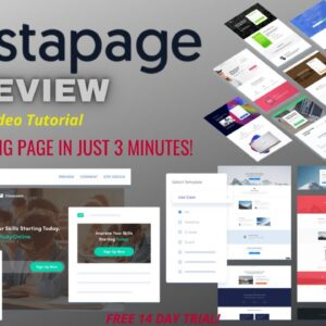 Instapage Review 2021 - Create Professional looking Landing Pages! (Video Tutorial)