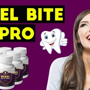 STEEL BITE PRO REVIEW ⚠️ Is It Scam ⚠️ Don't Buy Steel Bite Pro Capsules Before You Watch This Video