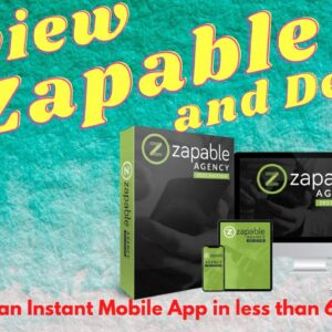 Zapable review  ⚠️ Earn $3000+ Per Month Passively ⚠️ Your Mobile App In 60 Secs ⚠️mobile app maker