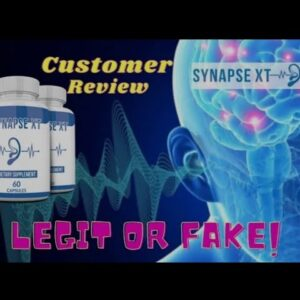 🌟Synapse XT Ingredients Customer Review⚠️Formula ⚠️Tinnitus Solution? Review Synapse XT