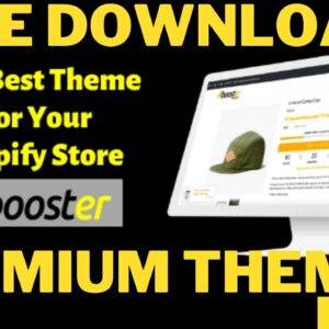 FREE DOWNLOAD PREMIUM SHOPIFY THEMES FOR FREE - Free Shopify Theme Download Link  Premium