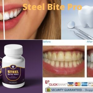 Steel Bite Pro Supplement Review -  Rebuild Your Teeth and Gums | Steel Bite Pro Ingredients list