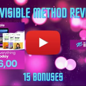 INVISIBLE METHOD REVIEW 🤑🤑 Make money online and NEVER get on camera 100% INVISIBLE 🤑 START TODAY 🤑