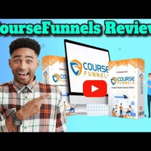 CourseFunnels review bonus -For The First Time, New  Advancement System  Exposes  Just How To...