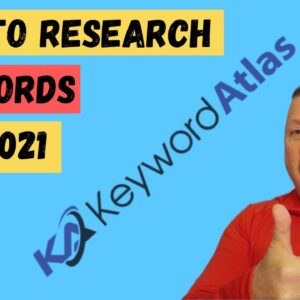 🔑 Keyword Atlas - Best Keyword Research Tool Review and Demo