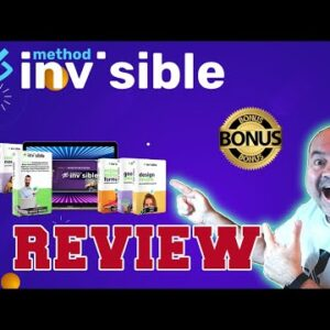 The Invisible Method Review 👨�🚀Demo👨�🚀 WARNING 👨�🚀DON'T GET WITHOUT MY 👨�🚀CUSTOM 🔥 BONUSES!!🔥