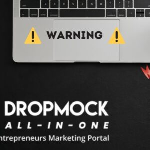 """DropMock """"All In One"""" Marketing Portal ⚠️Warning⚠️ WATCH THIS DEMO REVIEW BEFORE YOU BUY"""