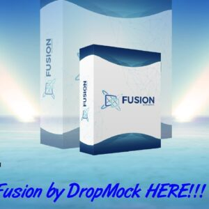 Fusion by DropMock Sales Video - get *BEST* Bonus and Review HERE!
