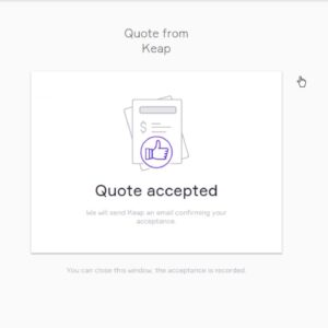 Get started with Keap—quoting and invoicing