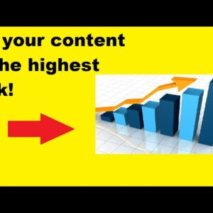 Get your video to the highest quality ranking! Using DFY suite 3.0