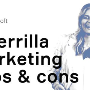 Guerrilla marketing: pros and cons