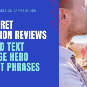 His Secret Obsession  Review-Hero instinct 12 words text james bauer