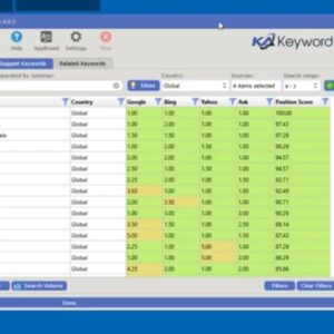 How to export and save keyword data - Keyword Atlas Software