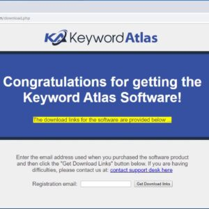 How to install Keyword Atlas on a Windows PC Computer