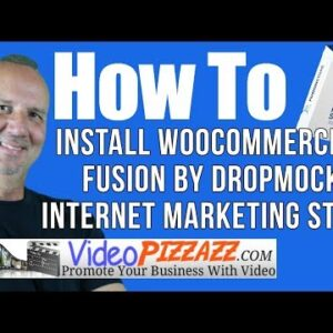 How To Install WooCommerce - Fusion by DropMock Internet Marketing Store